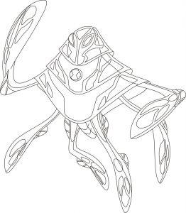 Ampfibio, el alienígena de Ben 10