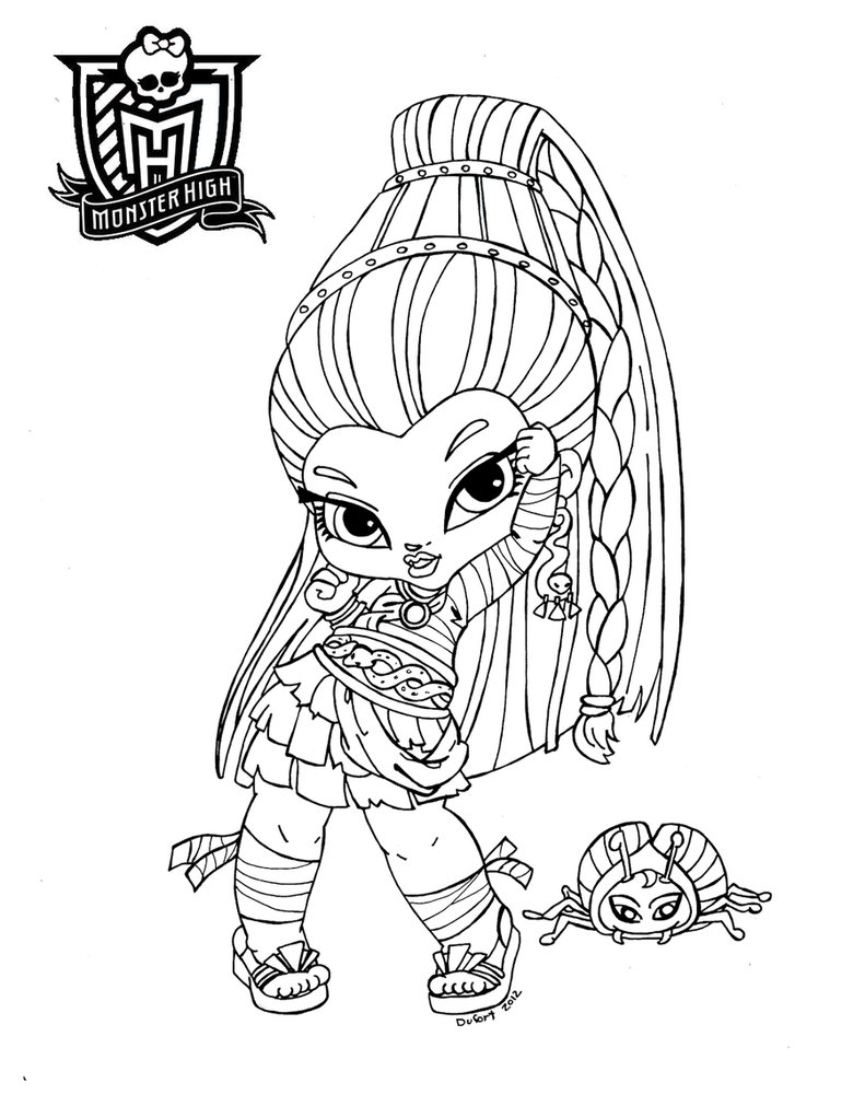 Nefera de Nile baby Monster High