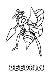 Pokemon Dardargnan Beedrill