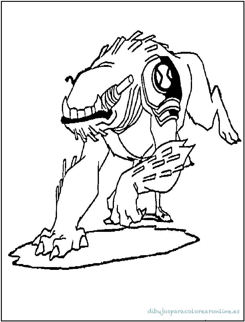 Wildmutt el alienígena peludo de Ben10
