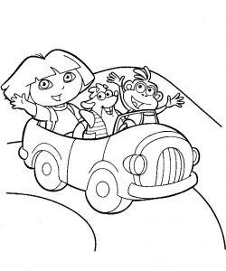 Dora la exploradora, Tico y Botas se van de excursión
