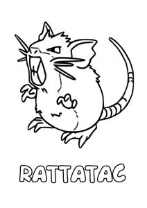 pokemon Rattatac Raticate