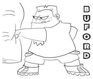 Buford, el fortachón Phineas y Ferb