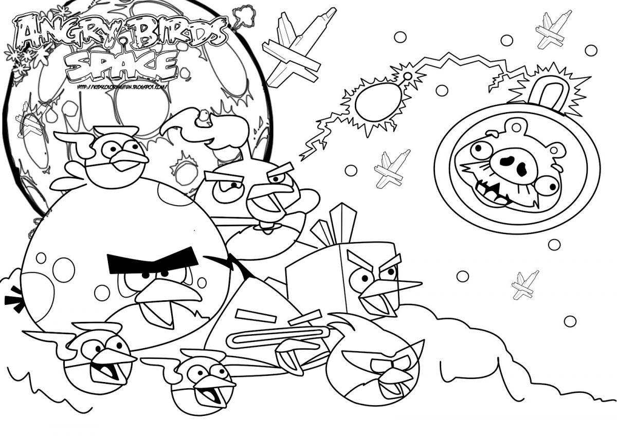 Angry Birds Space - Todos juntos