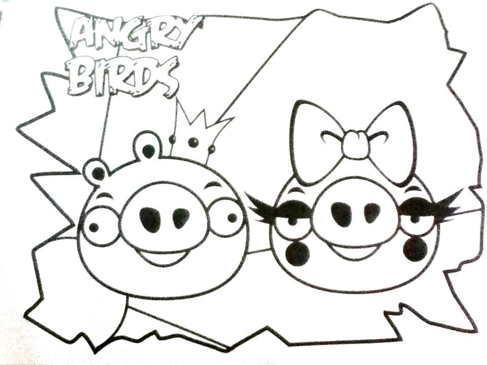 Los cerdos enamorados - Angry Birds