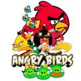 Dibujos de Angry Birds para colorear on line