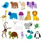 Dibujos de Animales para colorear on line