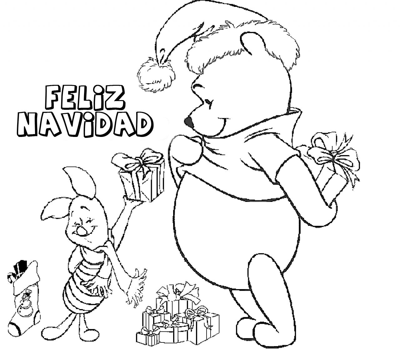 Dibujos para colorear online Navidad (2)