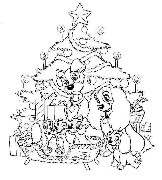dibujos para colorear Navidad (25)
