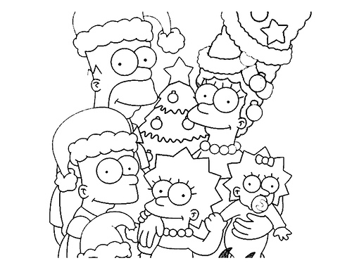 dibujos para colorear Navidad (31)