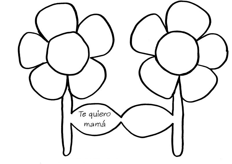 Flor Te quiero mamá